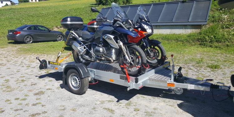 Huber Anhänger für motorisierte Zweiräder